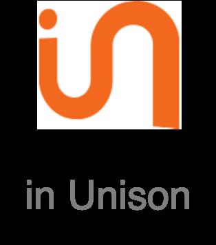 インユニゾン株式会社の企業ロゴ